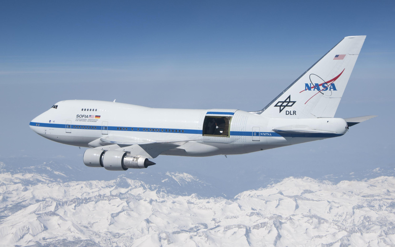 Luna, la misteriorsa scoperta fatta sul Boeing NASA SOFIA