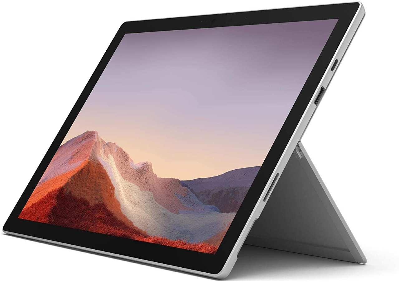 Microsoft Surface Pro 7 in super offerta su Amazon