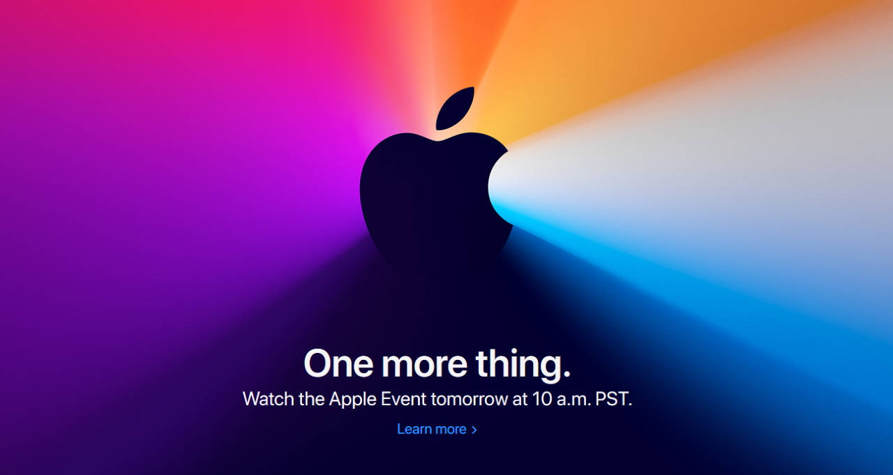 One More Thing Apple