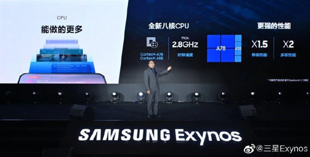 Samsung presenta il nuovo Exynos 1080 (Samsung)