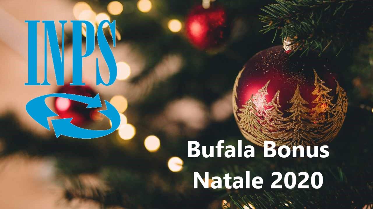 Bonus INPS Natale 2020