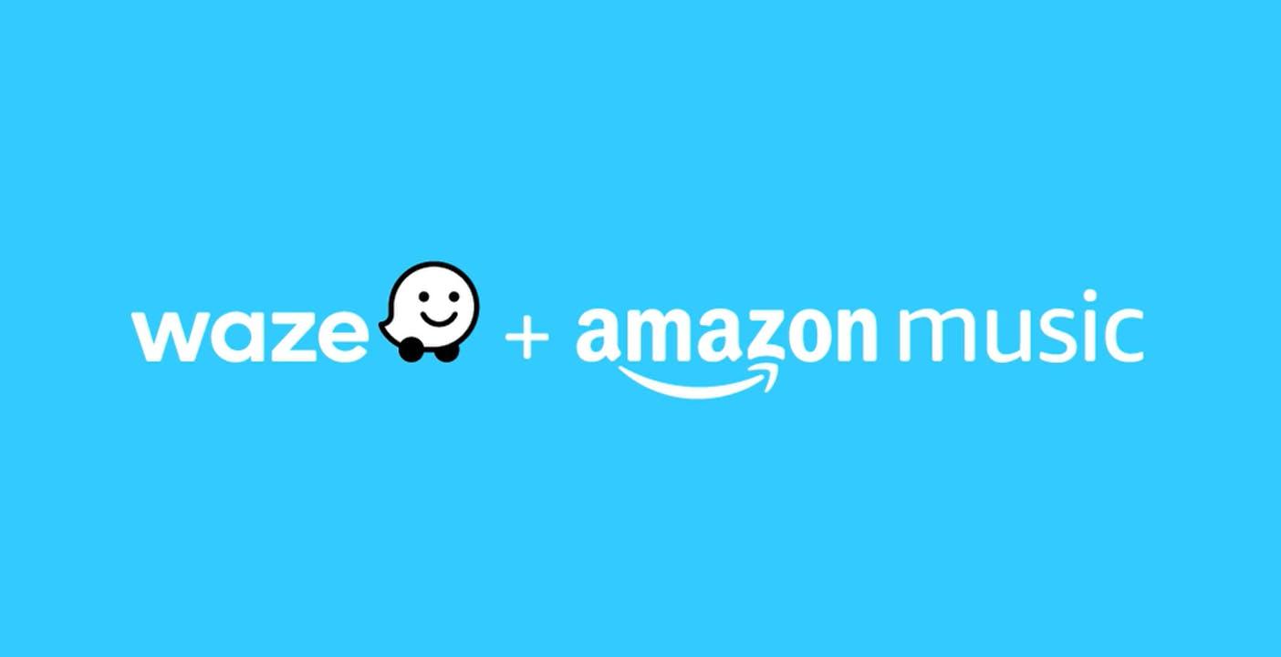 Amazon Music su Waze