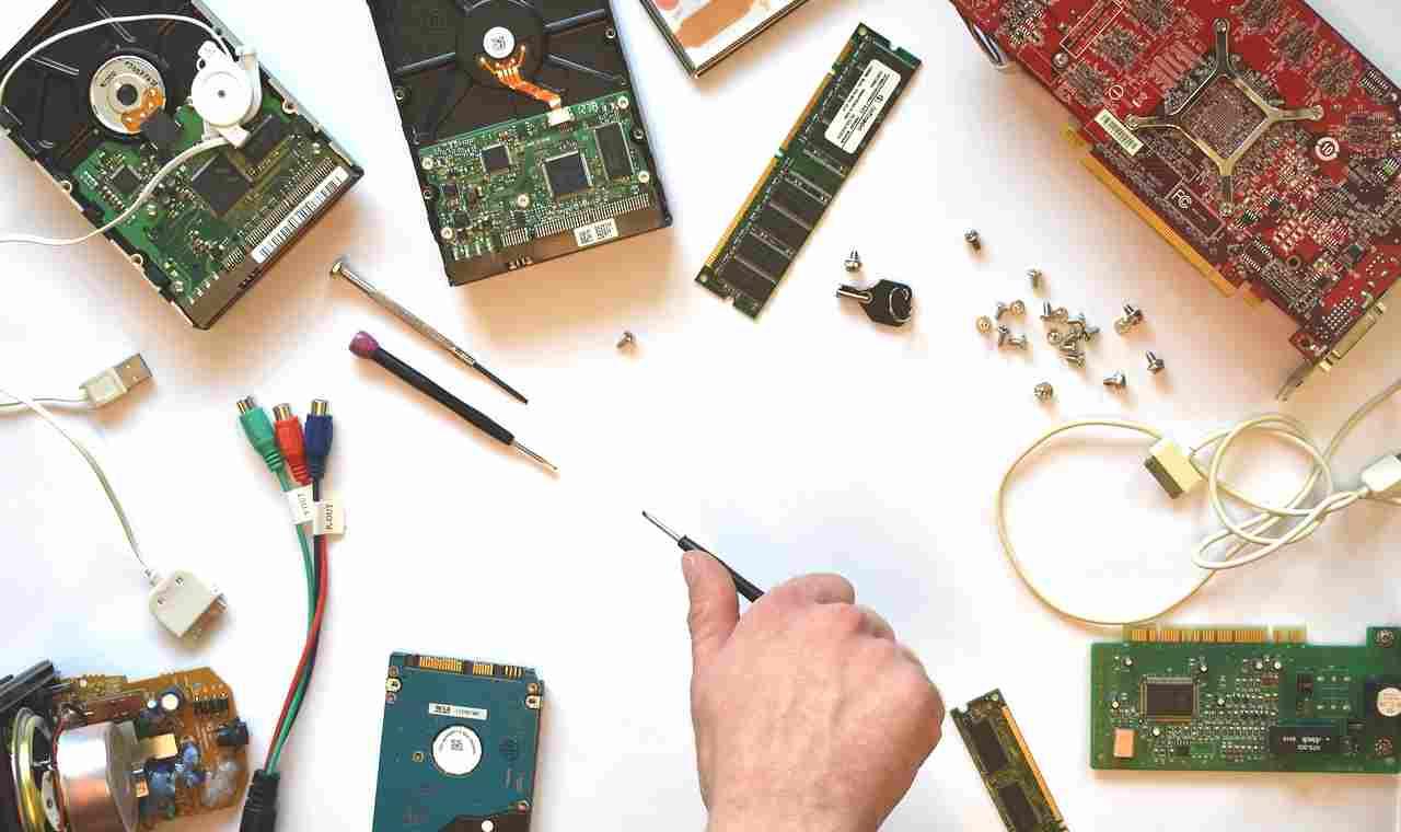 Riparazione componenti elettronici