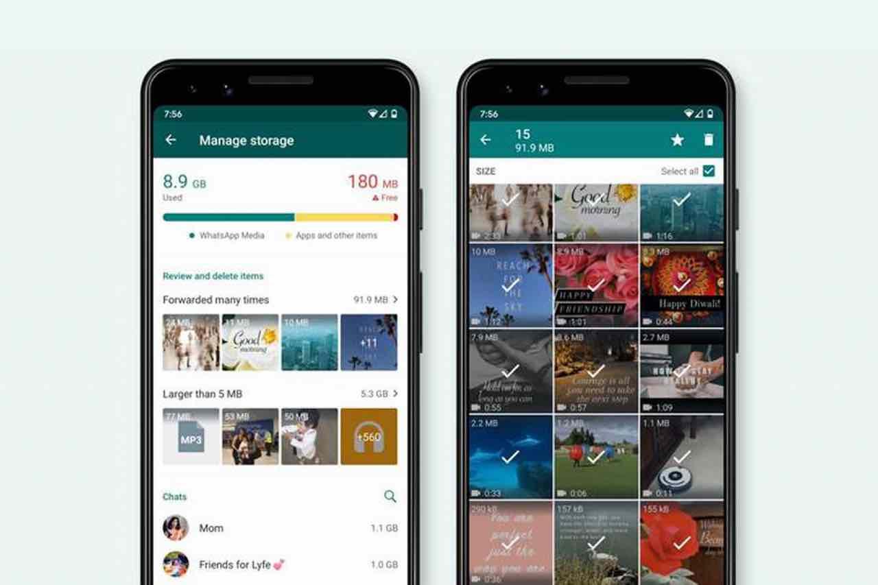 WhatsApp: ora è più semplice gestire i file