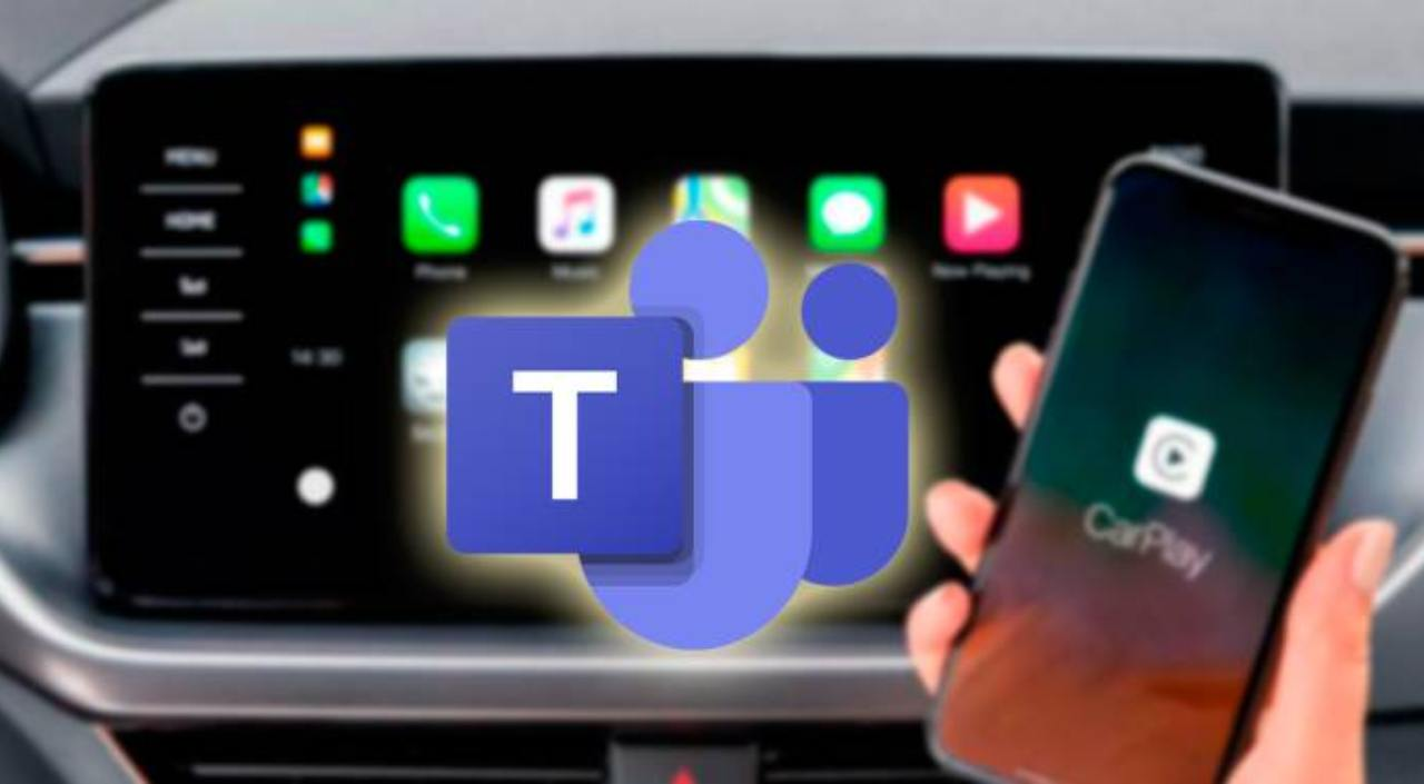 CarPlay di Teams
