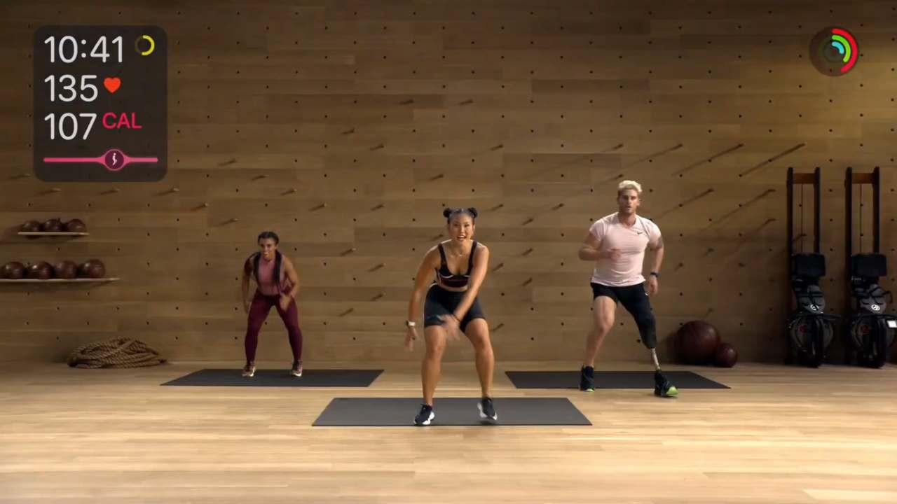 Allenamento su Fitness+