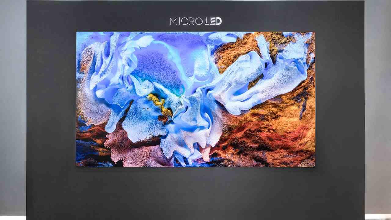 Primo Samsung microLED