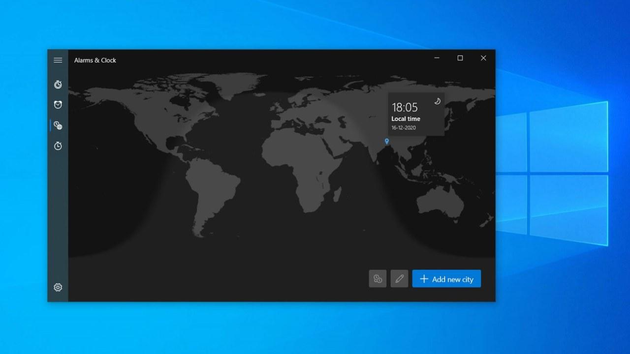 Nuova interfaccia Windows 10