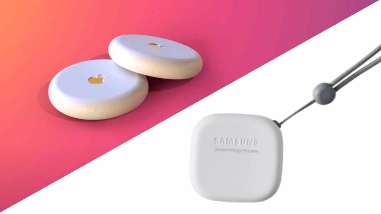 Galaxy Smart Tag ed Apple AirTags