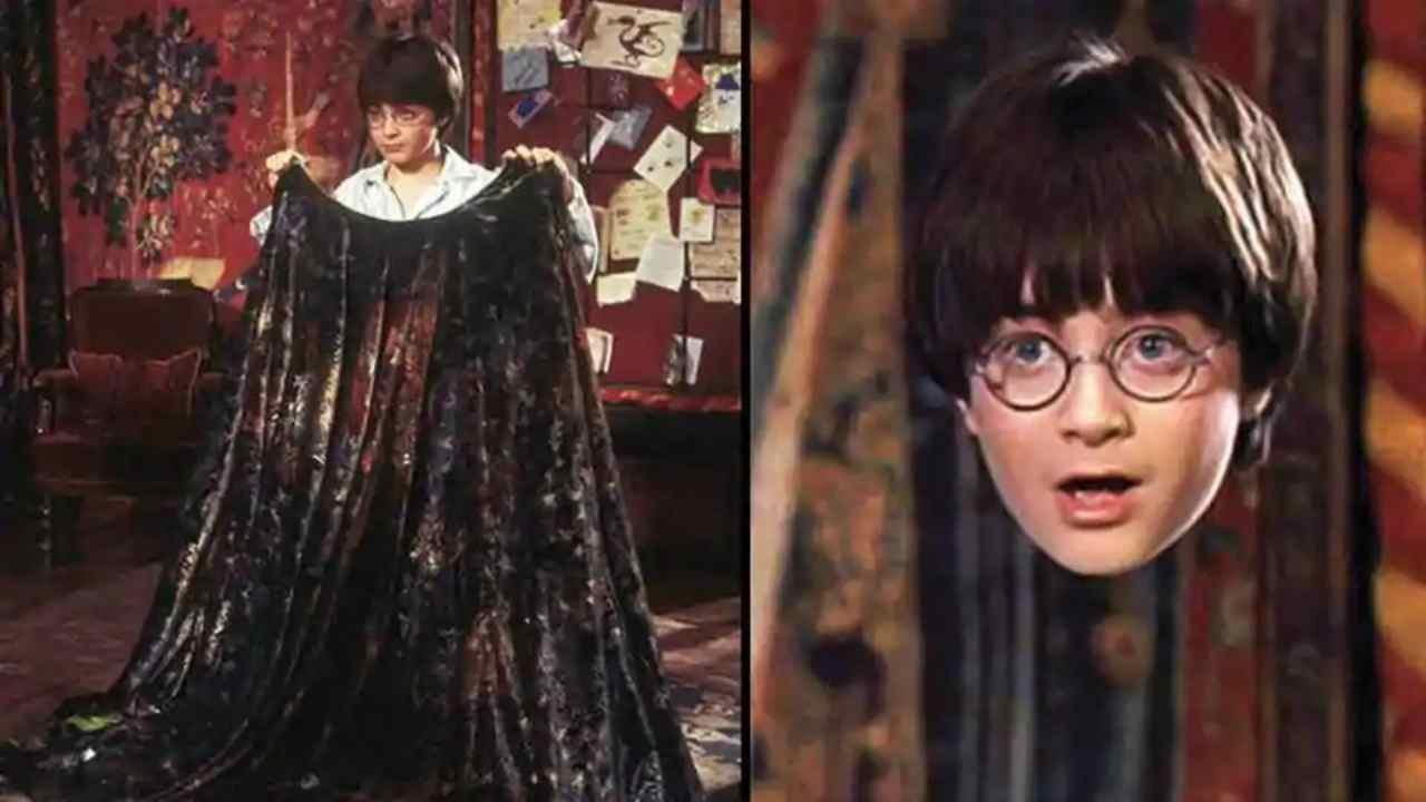 Mantello dell'invisibilità, Harry Potter