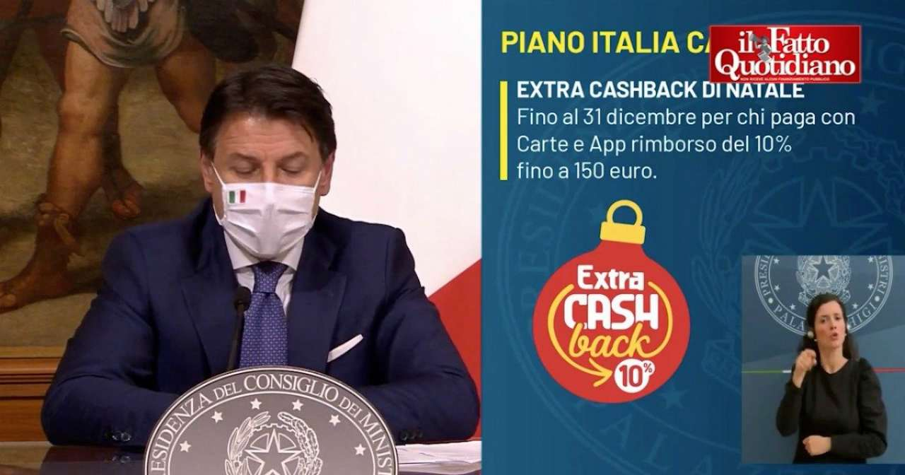 Cashback Natale e app IO funzionano, P. Chigi: