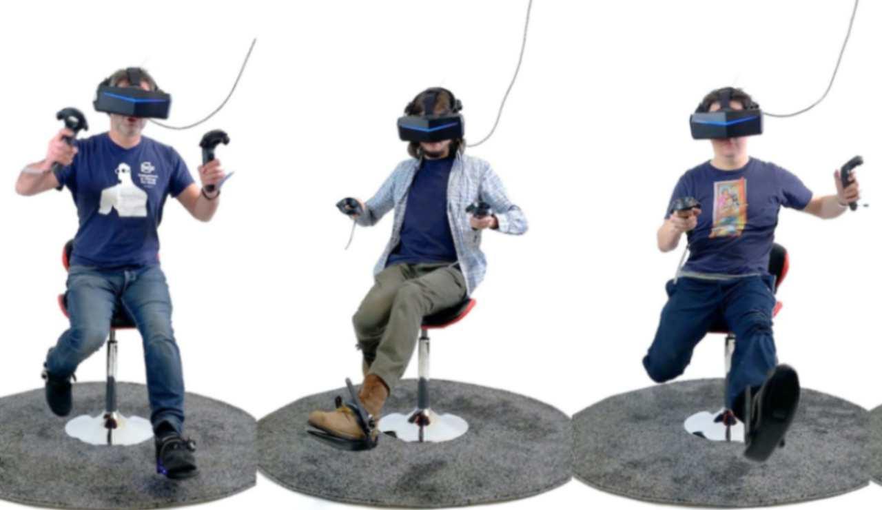 Realtà virtuale con le Cybershoes VR