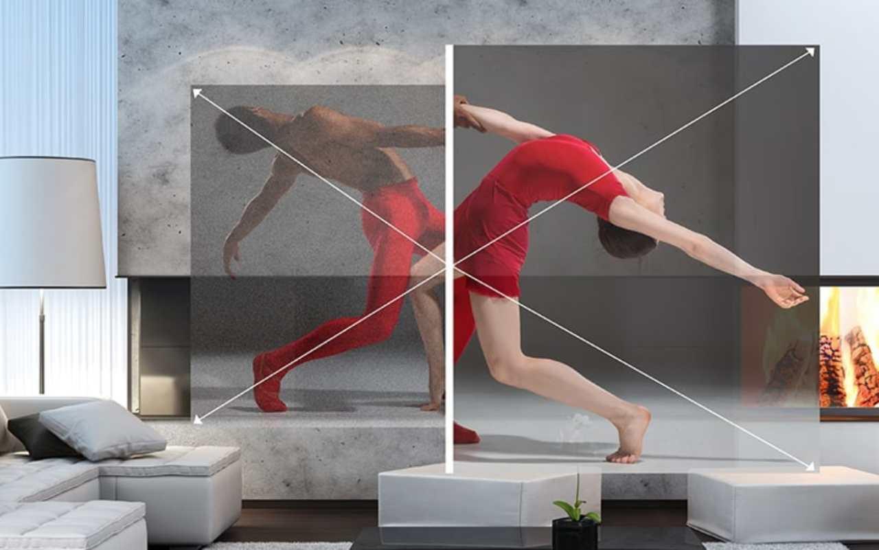 Risoluzione smartglass Moverio