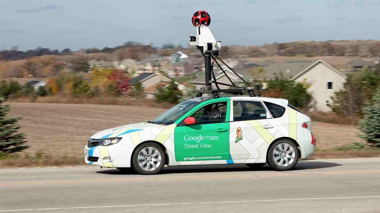 Auto di Google Maps