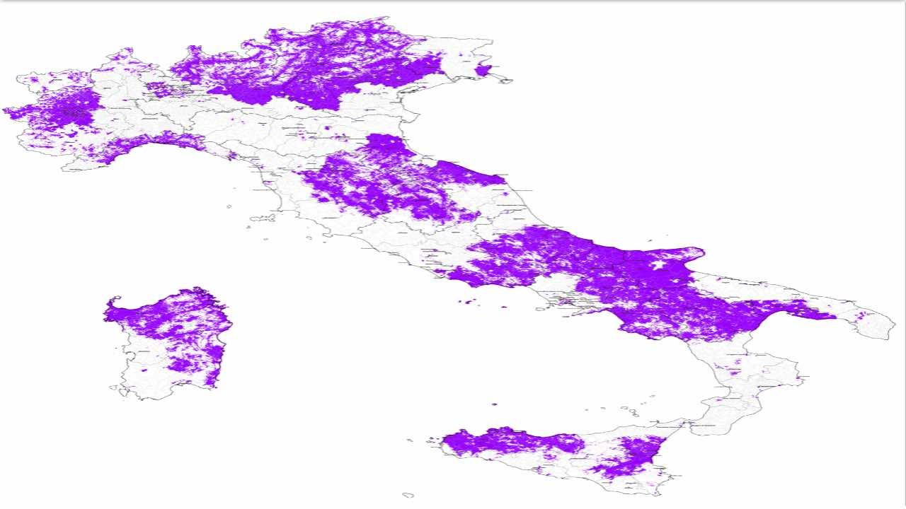 windtre, mappa con copertura 5G