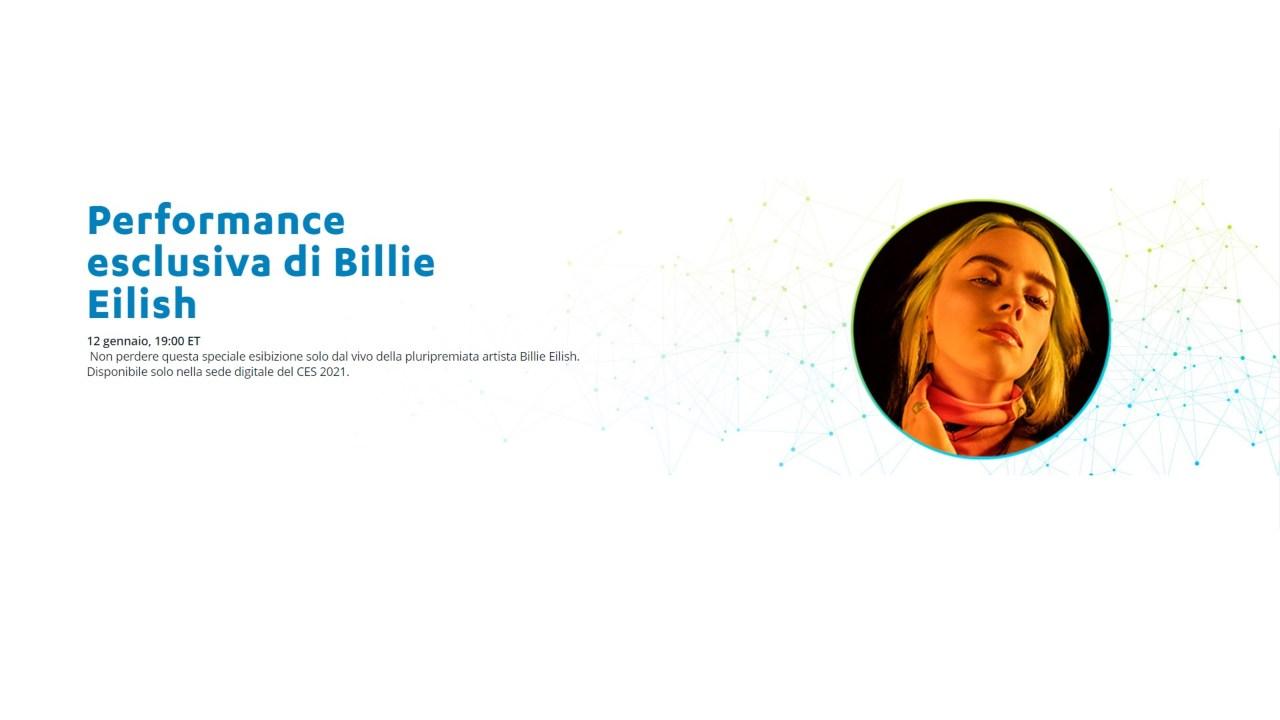Billie Eilish CES 2021