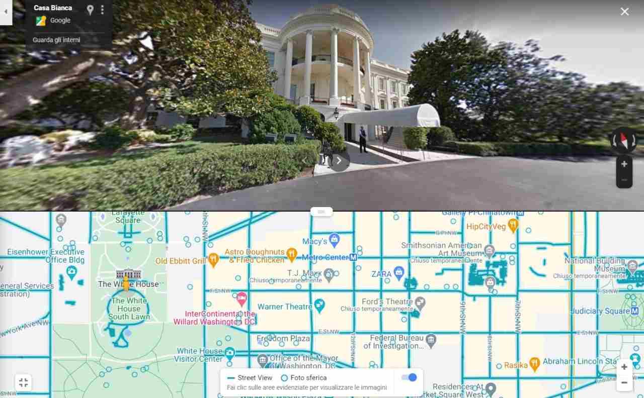 UI Split Street View