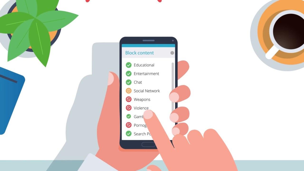 App per controlla smartphone