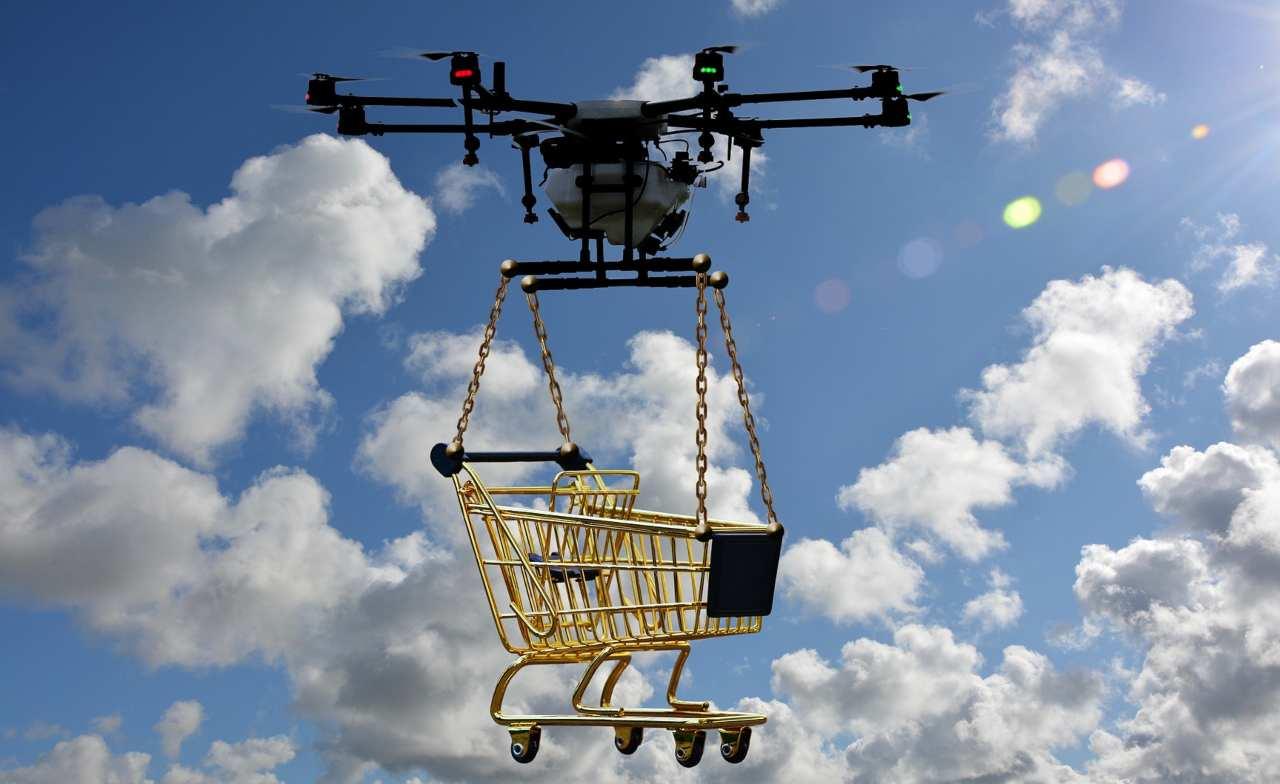 Drone delivery in crescita esponenziale
