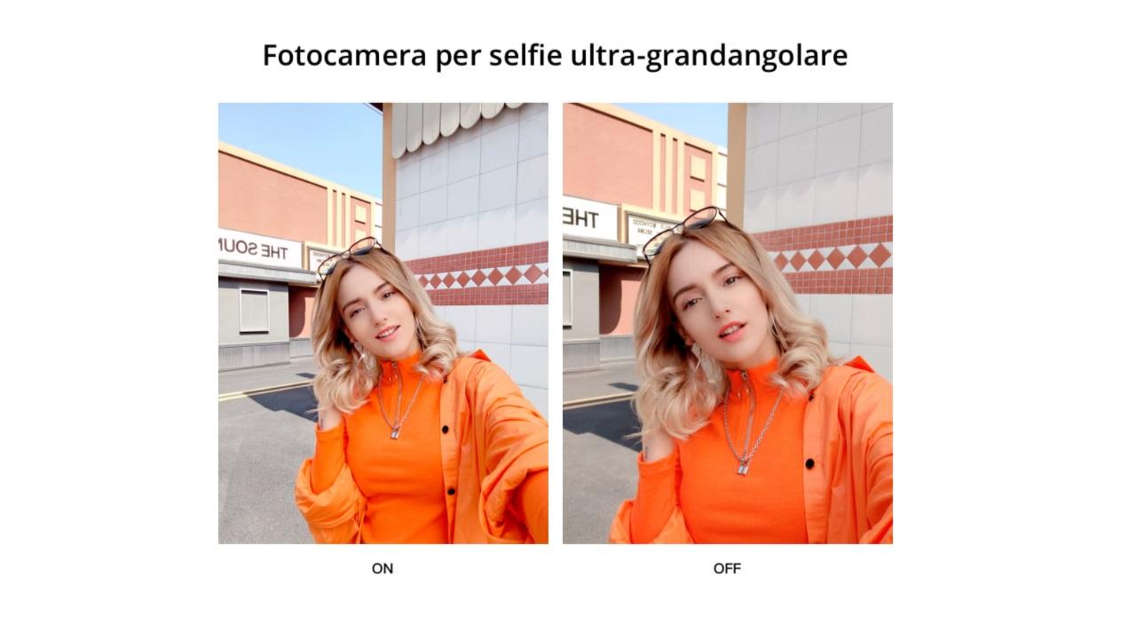 Caratteristiche fotocamera