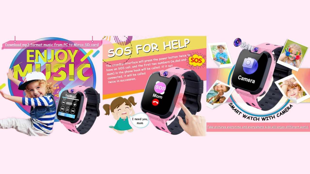Funzioni smartwatch per bambini