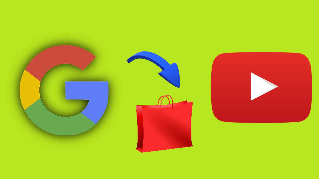 Google shop su YouTube