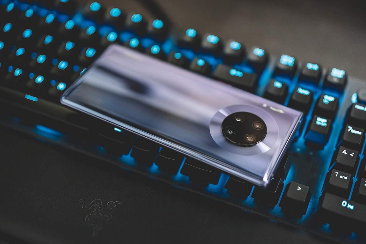 Smartphone Huawei (Pixabay)