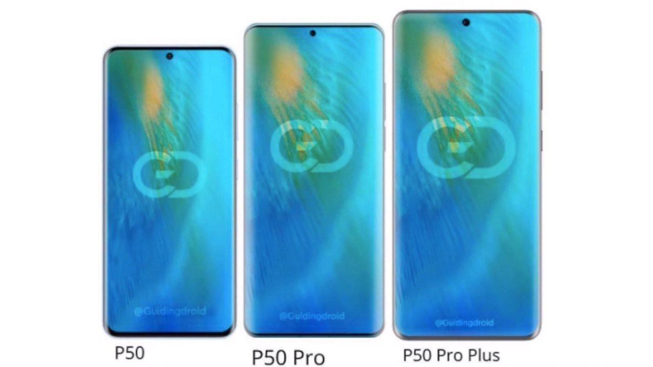 Linea Huawei P50