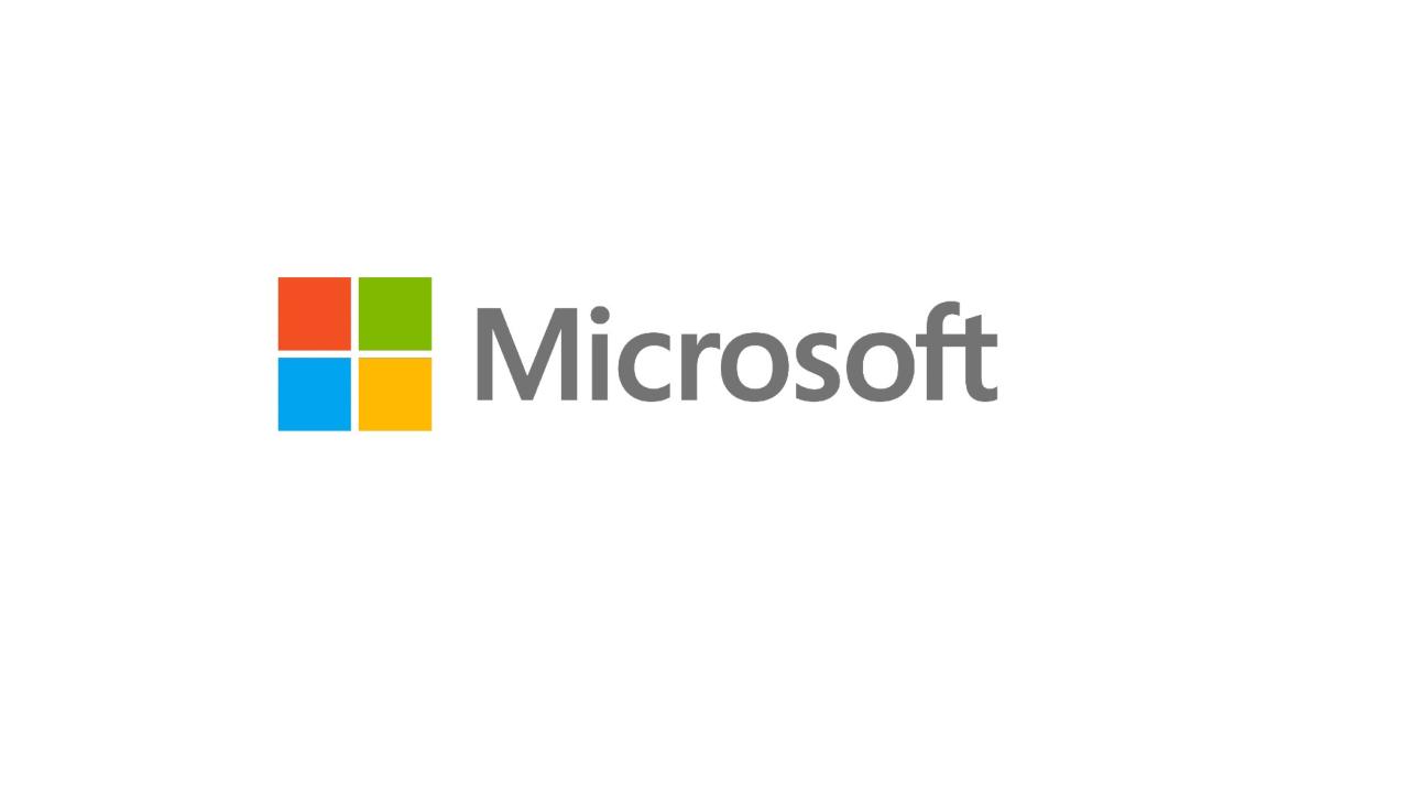 Microsoft logo bug su Windows 10