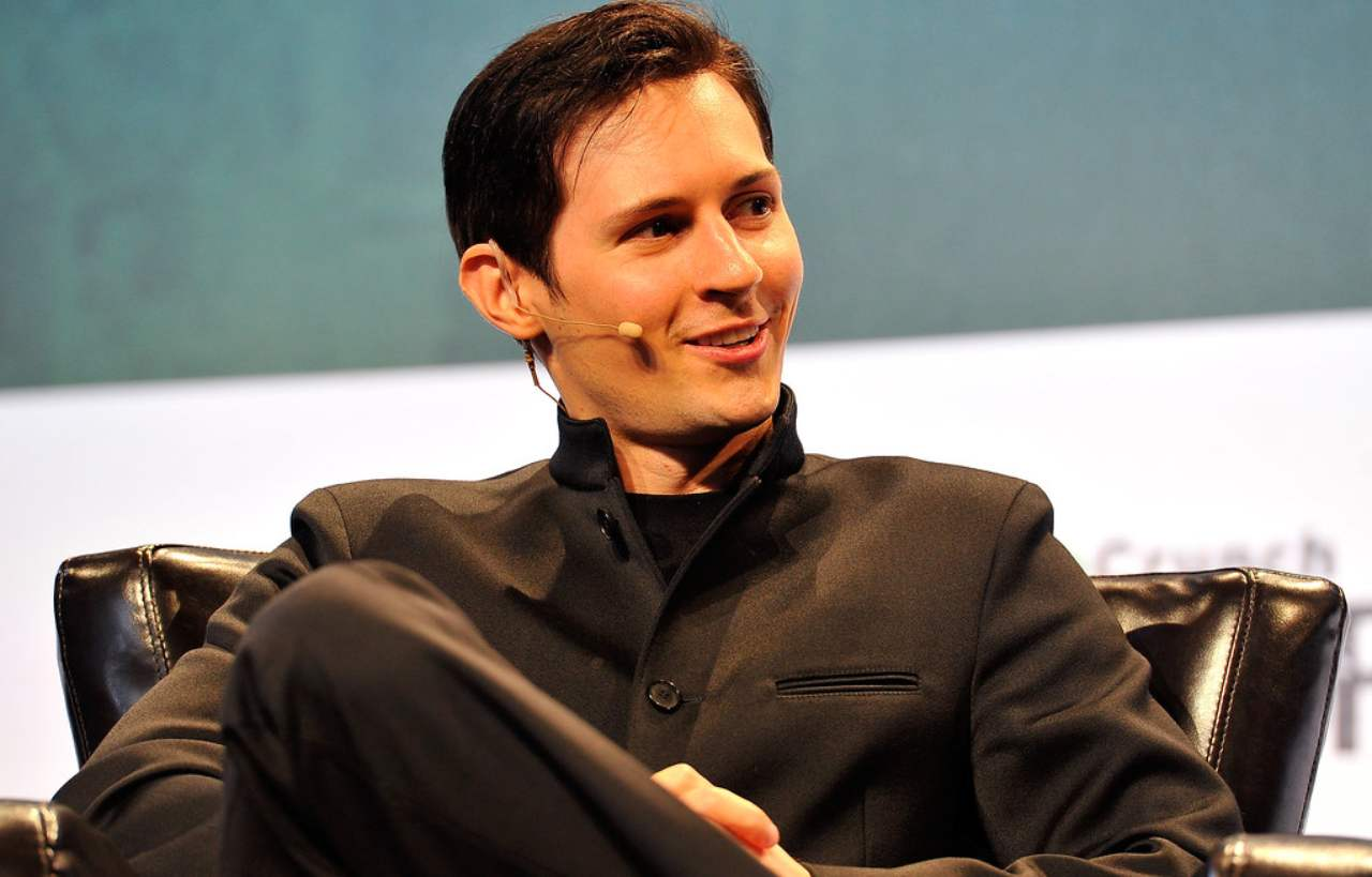 Pvel Durov Telegram chat da WhatsApp