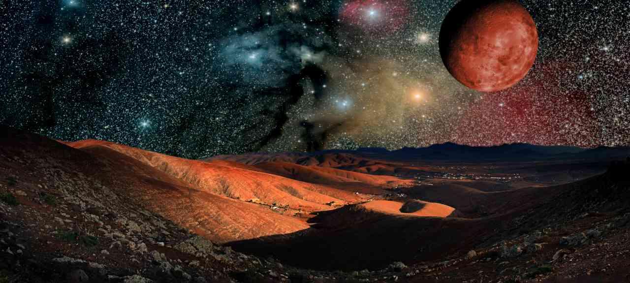Pianeta Marte (Adobe Stock)