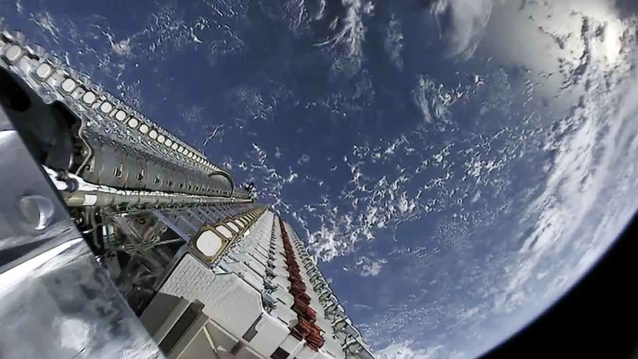 Starlink satellite spaceX