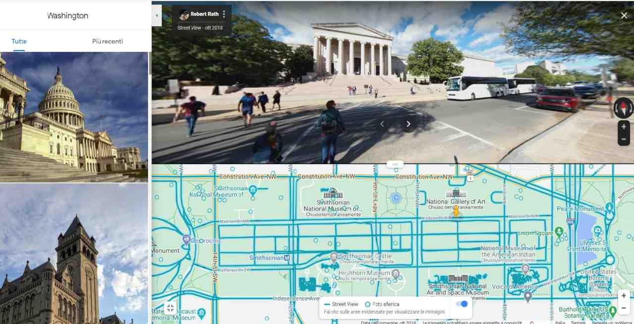Nuova funzione Street View