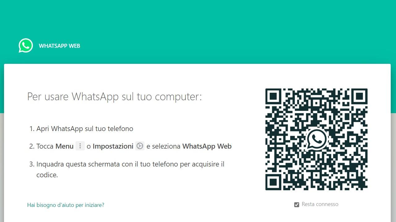 WhatsApp chat online