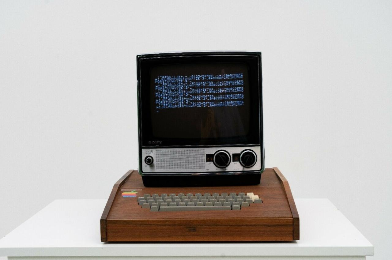 Apple I (Foto Wired)