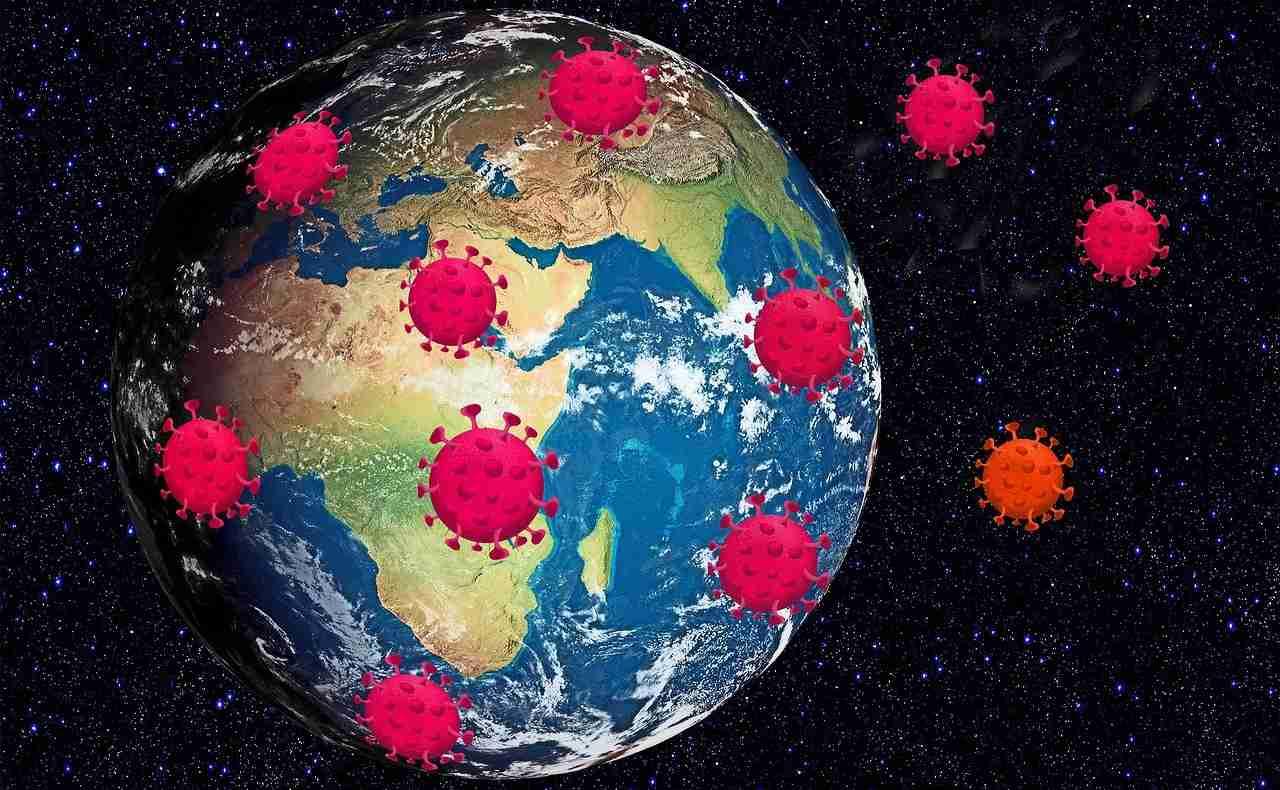 Diffusione del virus nel mondo