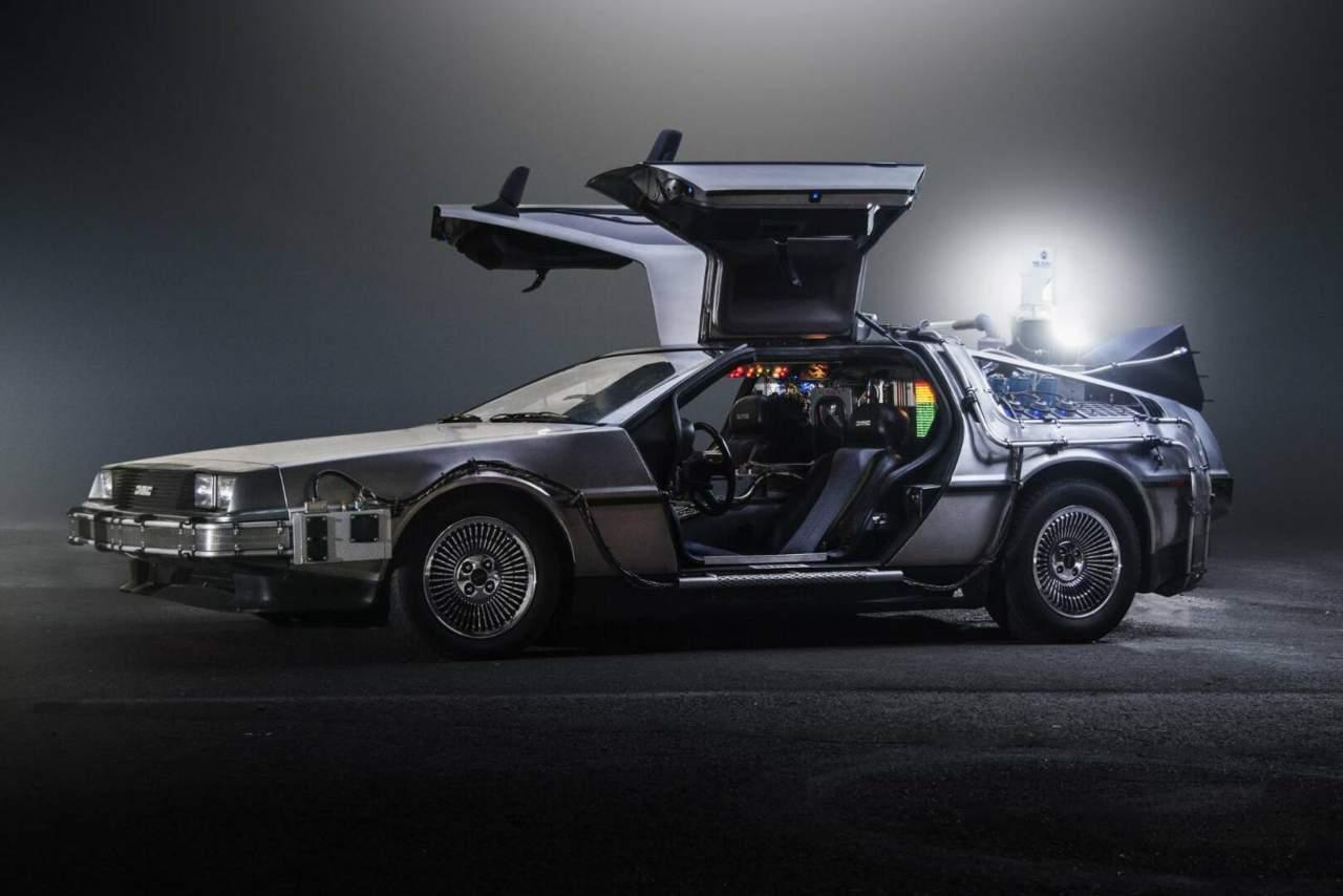 La mitica DeLorean di Ritorno al futuro