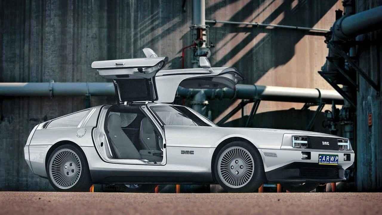 Così potrebbe essere la DeLorean elettrica