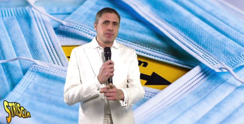 Moreno Morello, uno degli inviati di Striscia La Notizia