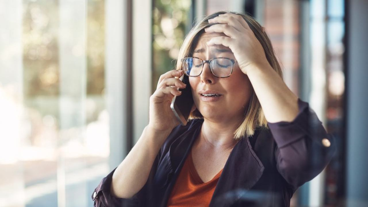 Se la tecnologia non funziona lo stress va alle stelle