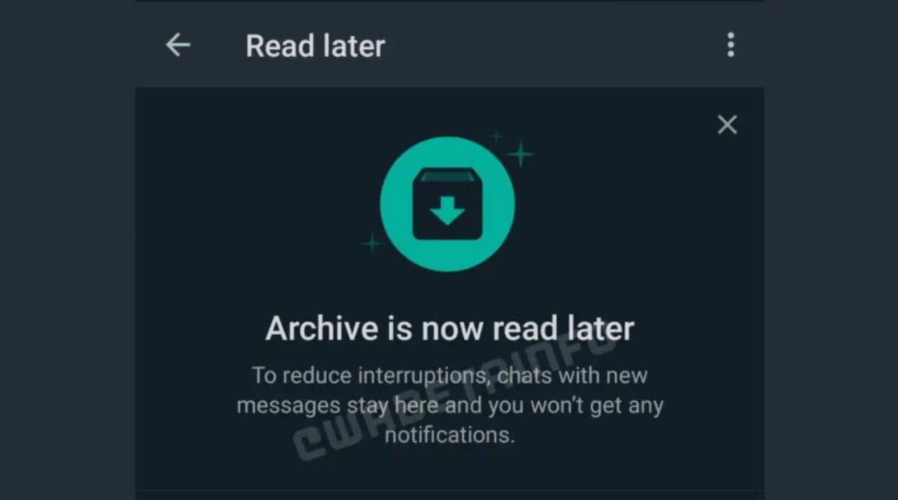 WhatsApp, arriva la funzione leggi dopo?