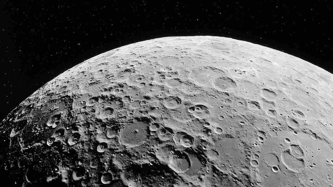 Crateri lunari (Adobe Stock)