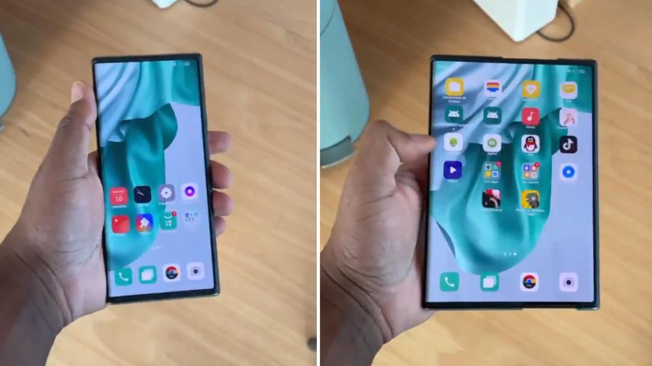 Schermo nuovo smartphone Oppo