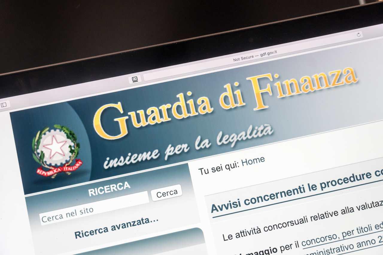Guardia di Finanza - Il sito istituzionale (Adobe Stock)