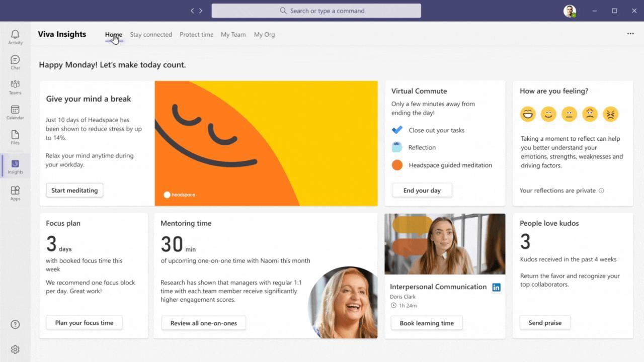 Microsoft lancia Viva Insights