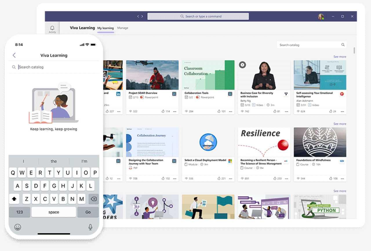 Microsoft lancia Viva Learnings
