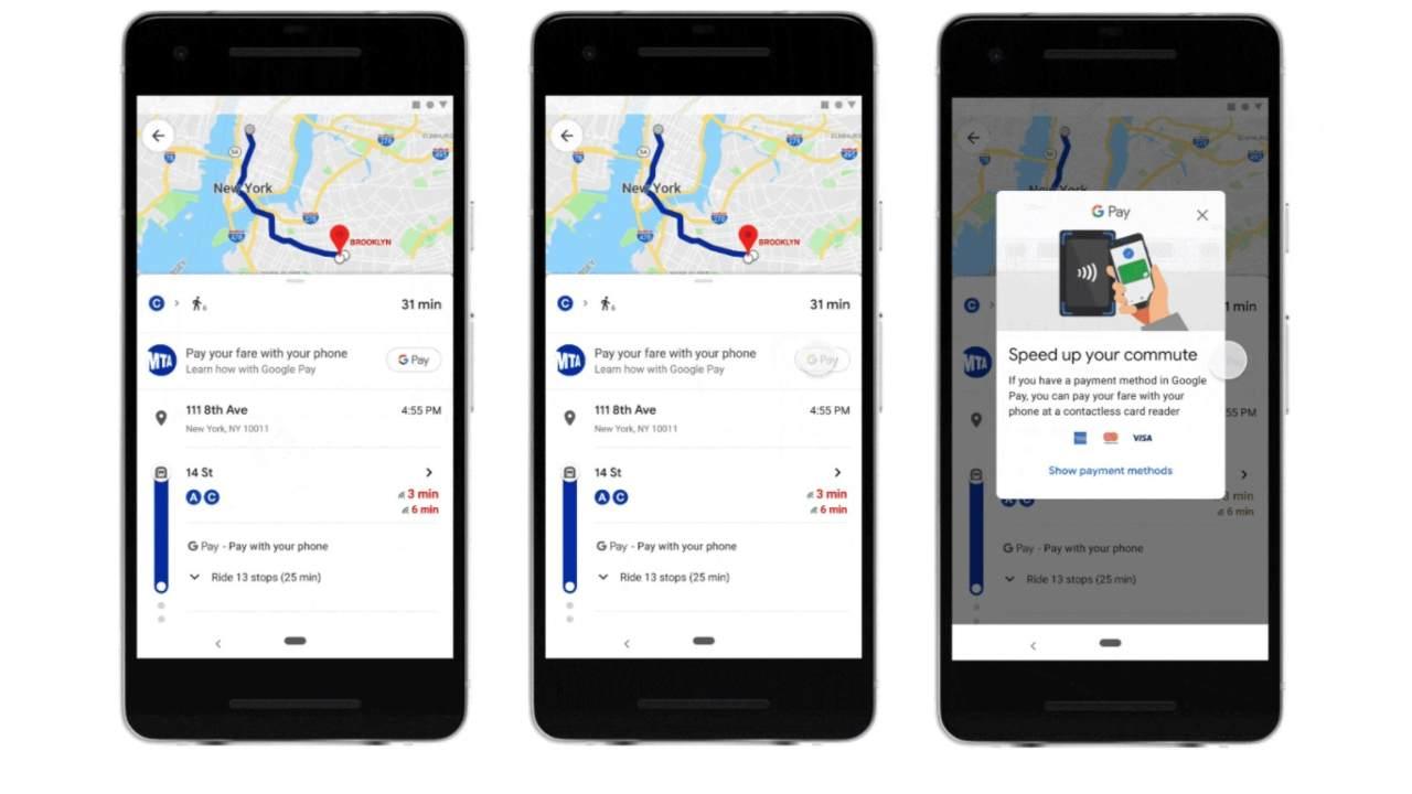 Maps per pagare i biglietti autobus