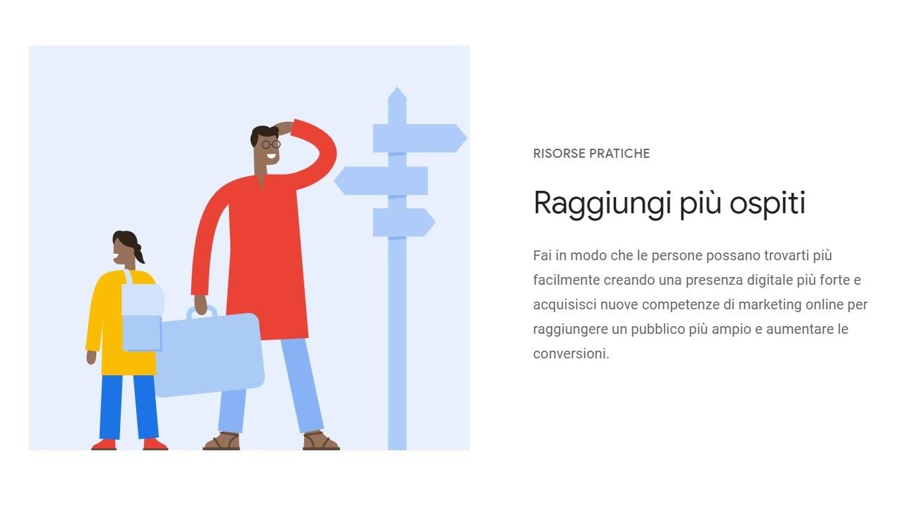 Risorse Google Hotel Insights