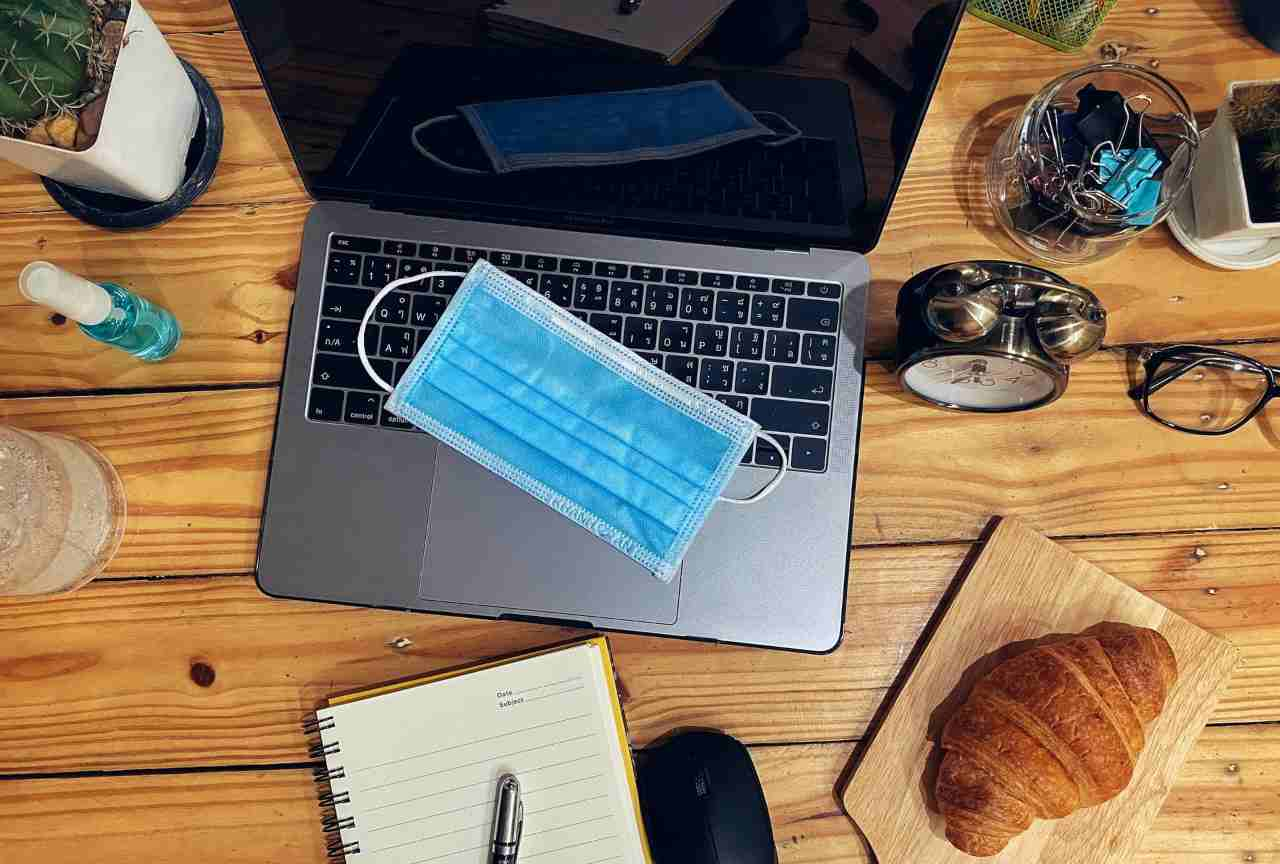 Shopping online smartworking