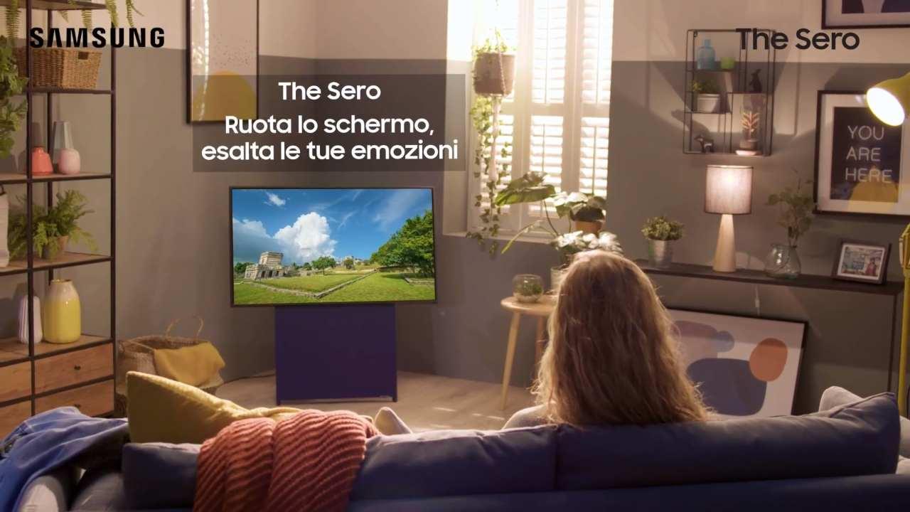 TV con schermo rotante